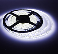 Impermeable los 5M 30W 600x3528SMD luz blanca LED Strip Lamp (DC 12V)
