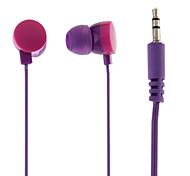 Buñuelo del auricular del estilo para el iPod (colores surtidos)