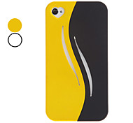 Detachable Two Unit as One Design Hard Case for iPhone 4/4S (Assorted Colors)