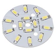 7W 14x5730SMD Natural White Light Aluminium Base de Emetteur LED