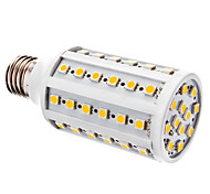 E26/E27 10 W 60 SMD 5050 800 LM Warm White T Corn Bulbs DC 12 V