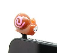 Plastic Snail Pattern Anti-dust Plug