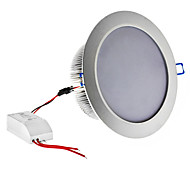 Dimmable 12W 1080LM 6000-6500K Natural White Light Silver Shell Lâmpada LED de teto (220V)
