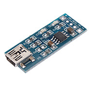 TP4056 1A Li-Ion аккумулятор зарядный модуль - Синий (4V ~ 8V)