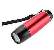 LED Flashlights / Handheld Flashlights LED 1 Mode 100 Lumens Waterproof Others AAA SmallSun , Red Aluminum alloy