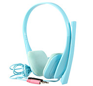 KEENION Fashionable Special Design On-Ear Earphone with Microphone KDM-801(Blue)