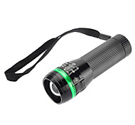 LED Flashlights / Handheld Flashlights LED 1 Mode 350 Lumens Adjustable Focus / Waterproof / Rechargeable Luminus SST-50 18650 / AAA