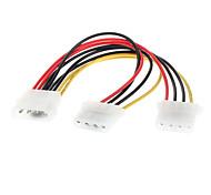 4 pin IDE Stromversorgung Splitter Verlängerungskabel 0.2m
