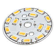 7W 14x5630SMD Warm White Light Aluminum Base LED Emitter (22-24V)