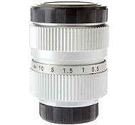 "25mm F1.4 CCTV Lens on Micro 1/2"" C (Silver)"