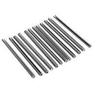 Bicycle Wire-Steel Reflective Stripe - Gray(12 Pcs)