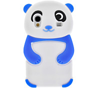 Blue Panda Silicone Soft Case for Samsung Galaxy Ace S5830