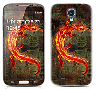 Fierce Dragon Pattern Front and Back Protector Stickers for Samsung Galaxy S4 I9500