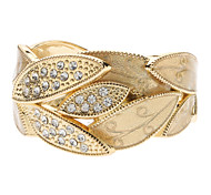 Z&X®  The Leave Diamond-Encruted Bracelet