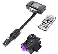 Bluetooth Car Kit FM Transmitter MP3 Player Steering Wheel USB