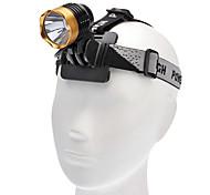 Linternas LED / Linternas de Cabeza (Recargable / Táctico / autodefensa) - LED 3 Modo 1000 Lumens Cree XM-L T6 - para