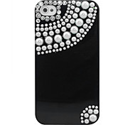 Zircon Cortina Padrão Hard Case para iPhone 4/4S