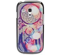 Bloemrijk Ring Pattern Hard Case voor Samsung Galaxy S3 mini I8190