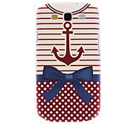 Matte Style Exquisite Bowknot Pattern Durable Hard Case for Samsung Galaxy S3 I9300