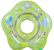 Flower Pattern Swim Neck Ring for Baby(Random Colors)