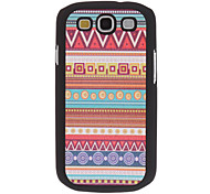 Elegant Design PU Leather Hard Case voor Samsung Galaxy S3 I9300