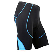 MC05038B Santic Summer Men's Coolmax Breathable Material Cycling 1/2 Pants - Blue