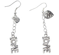Ture LOVE Metal Earring