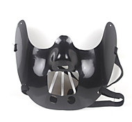 Keep Silence Black Halloween Mask