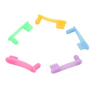 Multi-Function Anti-dust Plug for iPhone 5(Random Colors)