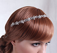 Luxurious Alloy Hand-made Flowers with Crystal Wedding Bridal Headpieces