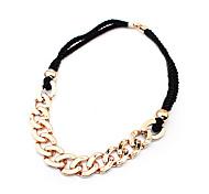 Punk Style Snakelike Long Necklace