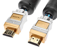 jsj® 3m hdmi v1.4 9.84ft macho a cable macho con 2 conductores neta chapado dorado para dvd Chromecast / blu-ray