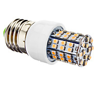 E26/E27 3.5 W 60 SMD 3528 270 LM Warm White T Corn Bulbs AC 220-240 V
