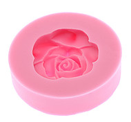3D Rose Shaped Silicone Cookie Mold