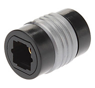 TosLink Optical Audio Adapter Preto