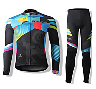 SPAKCT Grasse Polyester&Polyamide Cycling Long Sleeves Suits(Tops + Pants)