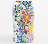 Colorful Flower Pattern Soft TPU Case for iPod Touch 5
