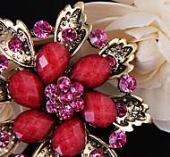 Broche de la flor de Lujo (color al azar)