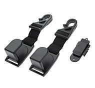 Headrest Luggage Car Hooks for Cars (2-Piece, Model:2054)