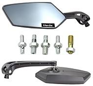 MerdiaRhombus Estilo Moto Anti-Glare Voltar Espelho Retrovisor para Motos (2 peças)