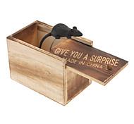 получить поражен ужасными деревянный ящик с мышью внутри