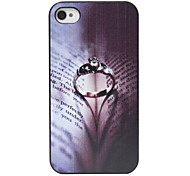 Alternative Ring Pattern Back Case for iPhone 4/4S