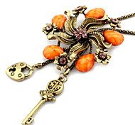 White Pendant Necklaces / Vintage Necklaces Daily Jewelry