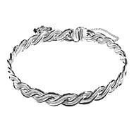 New York-Like Buddha Pendant 925 Silver Bracelet