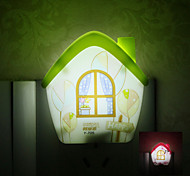 Senor Warm House Shaped LED Night Light