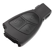 3-button Remote Control Key Case Shell for Benz(No Logo)
