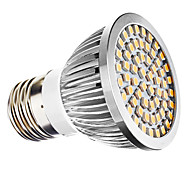 Spot LED Blanc Chaud MR16 E26/E27 3W 60 SMD 3528 240 LM AC 100-240 / AC 110-130 V
