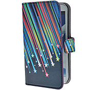 Meteor Shower patroon pu lederen tas met standaard en Card Slot voor Samsung Galaxy Note 2 N7100