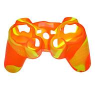 Funda protectora de silicona para PS3 controlador (color dual)
