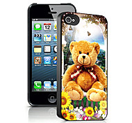 Bear Pattern 3D Effect Case for iPhone5